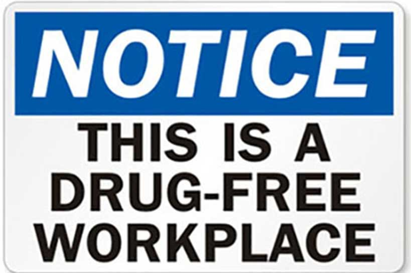 drug free workplace prgram